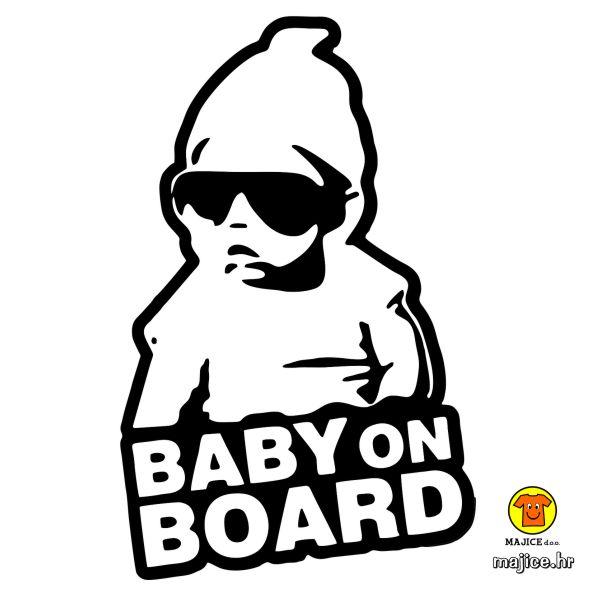 baby on board naljepnica